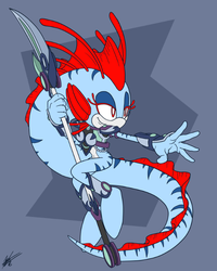Commission Strykeforce2005: Otohime the Oarfish by ShockRabbit