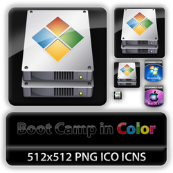 Boot Camp Icon with Color by cclloyd9785