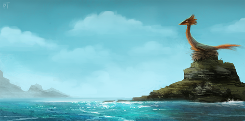 DAY 440. Nesting Rock by Cryptid-Creations
