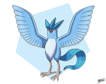 Day 18: Favorite Ice - Articuno by Fehlung