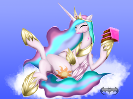 Queen of All the Cakes by SSJShadowX