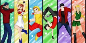 Young Justice DANCE by ArtySquare