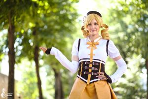 Mami Tomoe - me and the soul gem by SoraPaopu