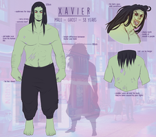[2017]Xavier by silent-hiII