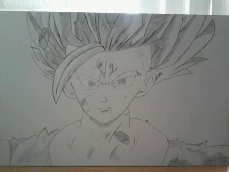 Gohan Crying by ozgur31
