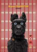 TO PRINT POSTER ISLE OF DOGS A4 CHIEF by JoylockDesigner