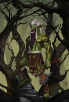 World of Warcraft / Heroes of the Storm - Zul'jin by SeoMinSung