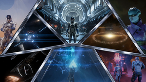 Mass Effect Andromeda Arkship Wallpaper by Hyperion127