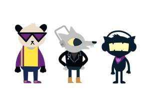 Night in the Woods - Music Mascots by petirep