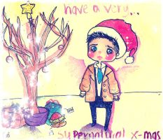 cas' first x-mas by kukkimarie