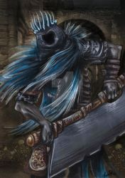 Yhorm the Giant by spelleria