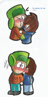 Kylexia doodles color 2 (south park) by Kitshime-SP