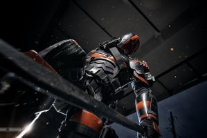 Deathstroke by demon00700
