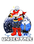 Undertale - Papyrus and Sans by TitanDraugen