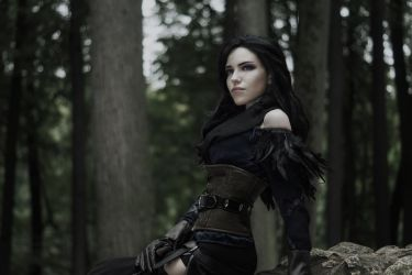 Yen - The Witcher wild hunt by TophWei