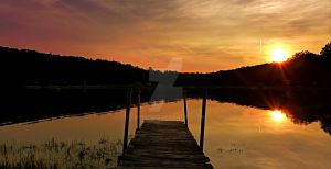 Dusk on the Dock by carriepage