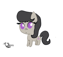 Octavia Filly/Chibi by PineappleSurferMoon