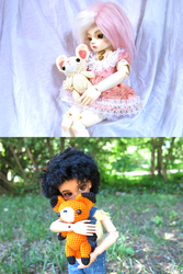 Dolls with Dolls by TheSmall-Stuff