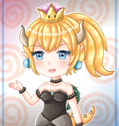 Bowsette by Angelinia