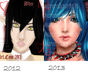 2012 vs 2013 Improvement? by AuroraLaurialis