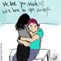 We're Here For You, Mark. by moosieface