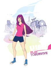 Play To Survive by soapzero