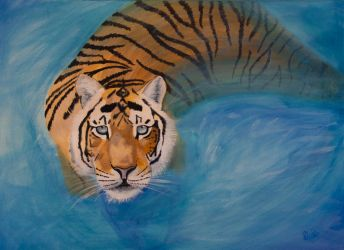 Water tiger by petrunsig