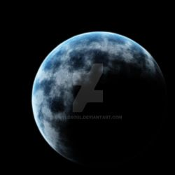 Untitled Blue Marble by Wyldsoul