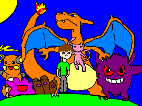 me and meh pokemanz by codmeister123