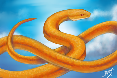 Snake in the Sky by xHybridus