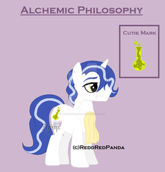 Alchemic Philosophy the Unicorn by ReddRedPanda