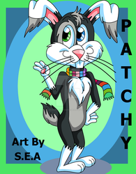 Original Art - Patchy The Bunny by SkunkyNoid
