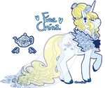 Fine China sheet for SerBronn by azume-adopts