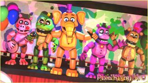 [SFM_FNaF6] ~The Tunes Of Their Time...~ by PixelKirby340