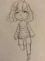 Undertale: Frisk by OctoTea