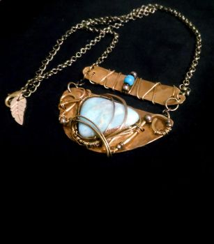 Chopin Costume Themed necklace by Akoustam5