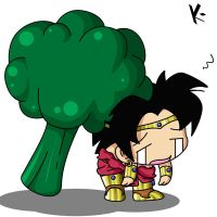 _Broly+Broccoli_ by DHackTrix
