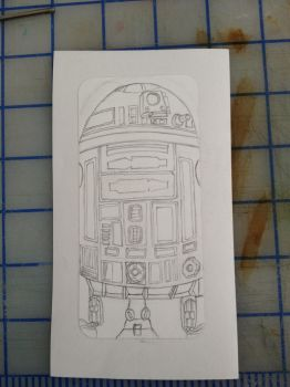 Starwars R2dPhone Pencils by aestheticreations