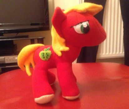 Big Mac Plushie by xPrincessEmilyx