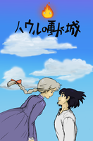 Howl's moving castle by Maybellez