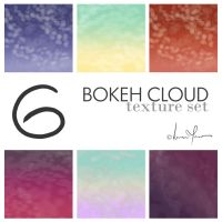 6 bokeh cloud textures by verycaren