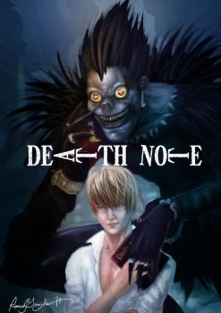 Death Note by Grapiqkad