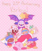 Kirby's 25th Anniversary by Chenanigans