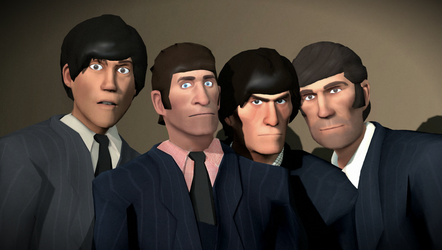 The Beatles - 1964 by ZeunkownFr333k