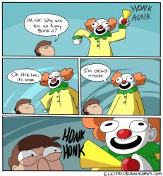 Clowningaround by electricbunnycomics