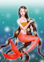 balinese mermaid by hananovie