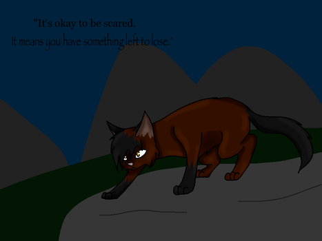 It's okay to be scared... by Superstar460