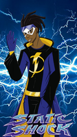 Static shock by The-Demonic-Cat-Girl