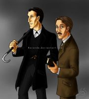 Holmes and Watson by Berende