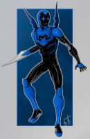 Blue Beetle by IBlackWolf